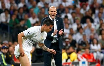 James Rodríguez recibe 'golpe bajo' de Zidane previo a las eliminatorias