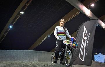 Mariana Pajón gana la válida uno de la Copa Francesa de BMX