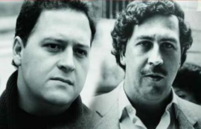 Juan Pablo Escobar y Pablo Escobar. Foto: Facebook