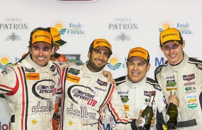 Gustavo Yacamán logra podio en las 12 horas de Sebring