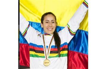 Mariana Pajón mandó un recadito al que le criticó su cicla