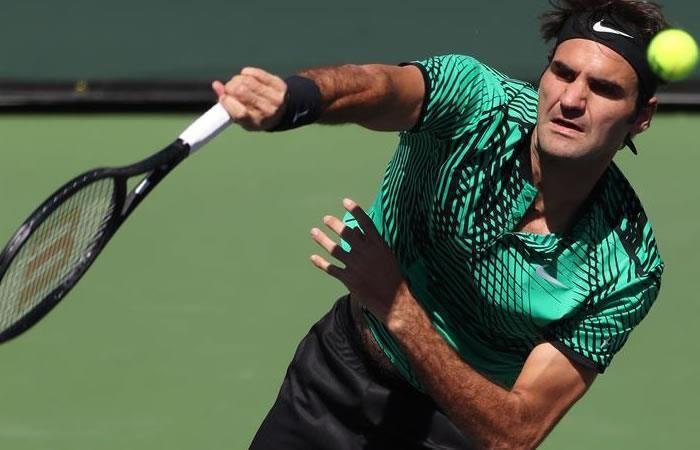 Roger Federer se corona campeón de Indian Wells