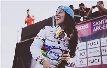 Mariana Pajón llena de orgullo a Colombia con otro título
