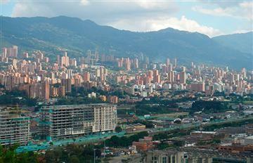 Medellín en alerta naranja por calidad del aire