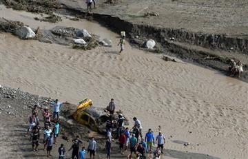 Perú: Trasladan a 12 colombianos a Ecuador por tragedia invernal