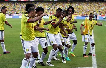 Selección Colombia ya entrena con 17 jugadores