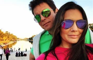 Jessica de la Peña se casó con parranda vallenata