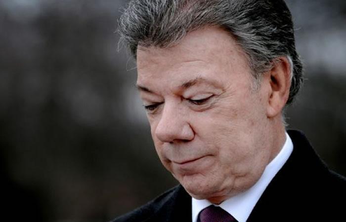Presidente Santos será denunciado por caso Odebrecht