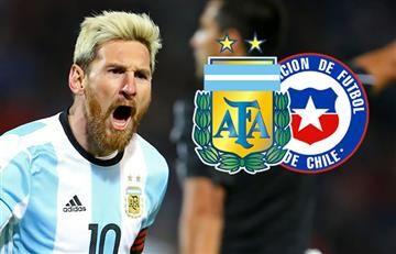 Argentina vs. Chile: Hora y transmisión EN VIVO