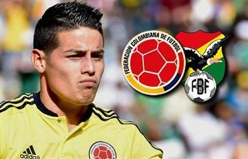 Colombia vs. Bolivia: Hora y transmisión EN VIVO