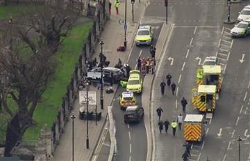 Londres: Al menos 12 heridos por tiroteo en el Parlamento británico