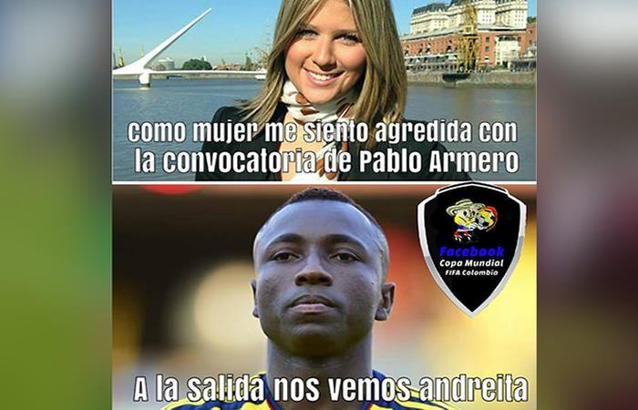 Selección Colombia y sus divertidos memes previos al partido