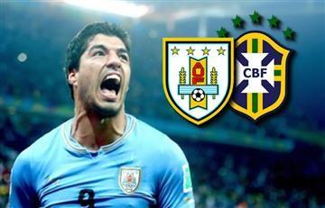 Uruguay vs. Brasil: Hora y transmisión EN VIVO