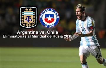 Argentina vs. Chile: Transmisión EN VIVO