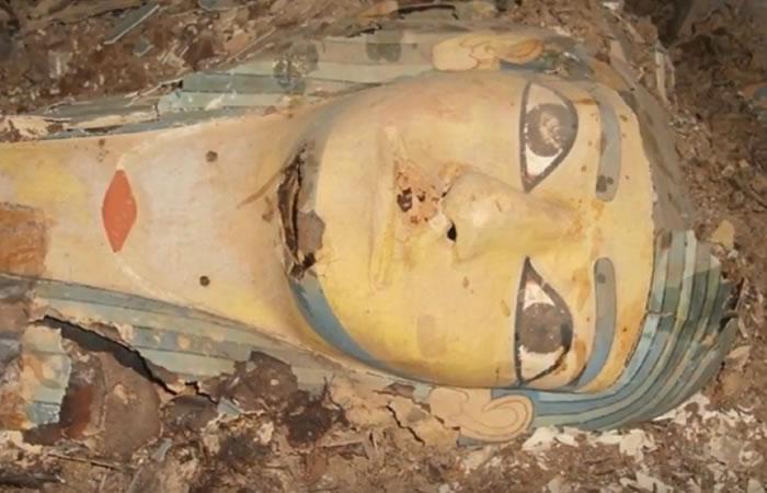 Egipto: Hallan tumba intacta de un noble faraónico
