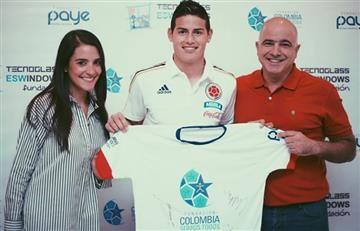 James Rodríguez: increíble gesto de humildad con los niños de Colombia