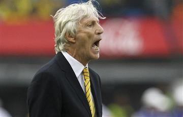 """José Pékerman: """"Le dije a los jugadores que este era un partido tramposo"""""""