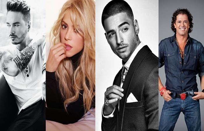 Latin Billboards 2017: Colombia logra 21 nominaciones