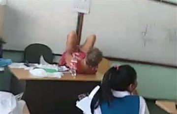Panamá: Acusan a profesora de enseñar a dar a luz en clase