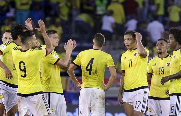 Selección Colombia: Alineación oficial ante Bolivia