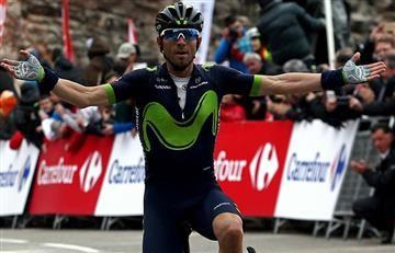 Alejandro Valverde demuestra su poderío en la Volta a Cataluña