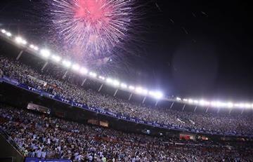 Eliminatorias: Aficionados argentinos silenciaron el himno de Chile