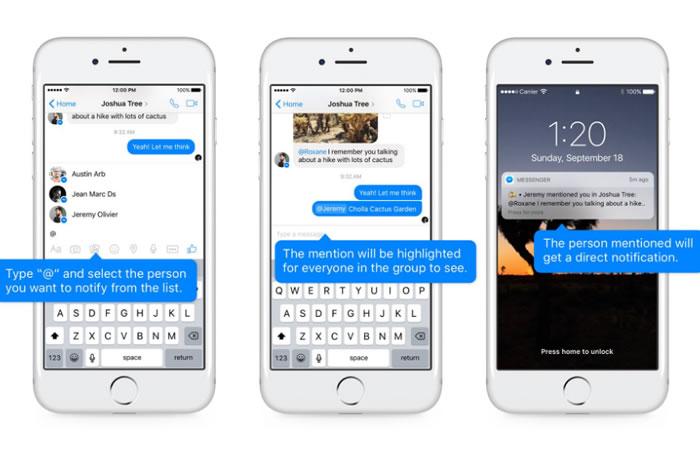 Facebook Messenger: ¿Cómo hacer menciones directas en chats grupales?
