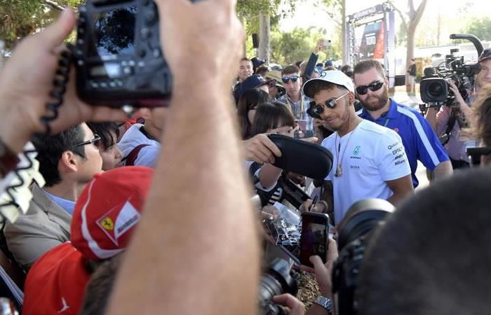 Hamilton: 'Los entrenamientos para el GP de Australia fueron perfectos'