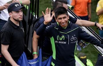 Nairo Quintana y el susto que alarmó a Colombia