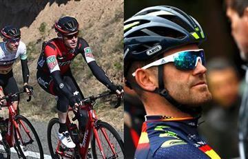 Rojas denunció a Van Garderen por 'quitarse el casco' en plena Volta a Catalunya