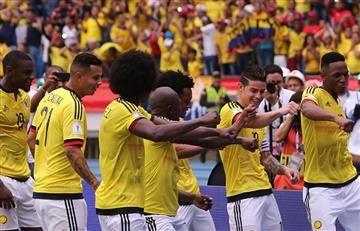 Selección Colombia: Así quedó la tabla de clasificación