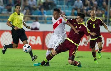 Venezuela no pudo contra Perú y dejó escapar dos puntos en casa