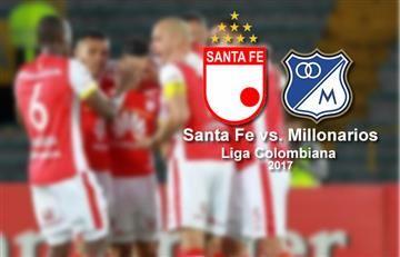 Santa Fe vs. Millonarios: hora y transmisión EN VIVO