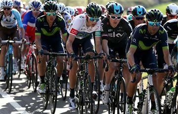 Valverde es líder y Froome perdió el segundo puesto en la Volta a Cataluña