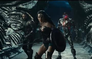 Liga de la Justicia lanza su primer tráiler