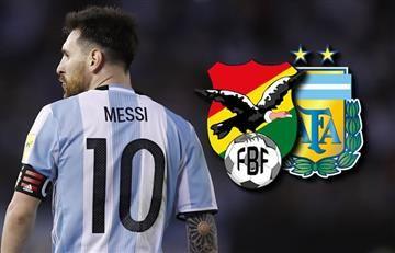 Bolivia vs. Argentina: Hora y transmisión EN VIVO