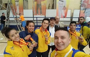 Colombia logra dos oros en el Open Internacional de Taekwondo