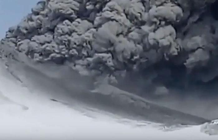 Volcán Kambalni. Foto:Youtube