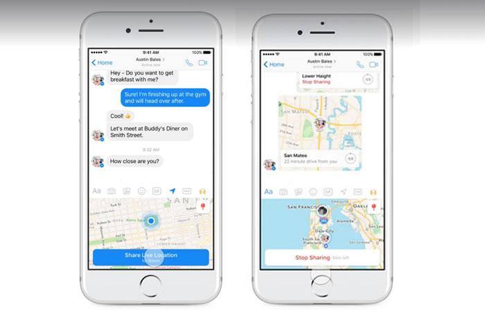 Facebook Messenger: ¿Cómo compartir mi ubicación en tiempo real?