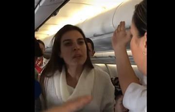 Mujer ebria provoca escándalo en vuelo Bogotá- Nueva York