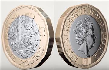"""Reino Unido estrena la moneda """"más segura del mundo"""""""