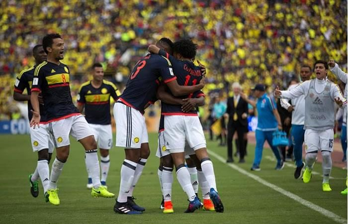 Selección Colombia: Reviva los goles de la tricolor ante Ecuador