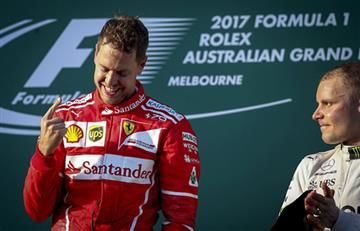 Vettel ganó en Australia y le devolvió la sonrisa a Ferrari