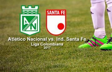 Atlético Nacional vs. Santa Fe: Transmisión EN VIVO