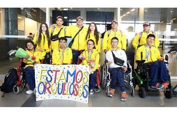 El emocionante recibimiento a los subcampeones parapanamericanos
