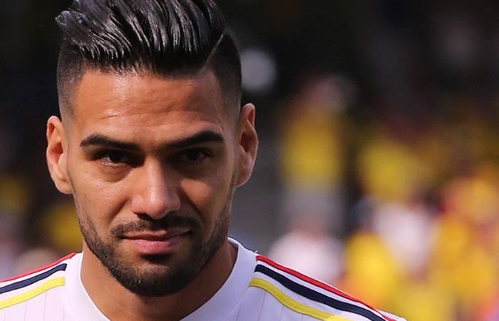 Falcao García no se olvida de la selección Colombia