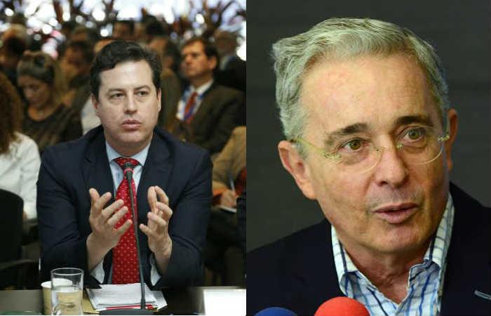 Video: Senador Galán le recordó a Uribe las chuzadas del DAS