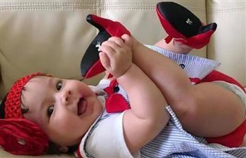 Instagram: Tacones para bebé, la última tendencia en moda