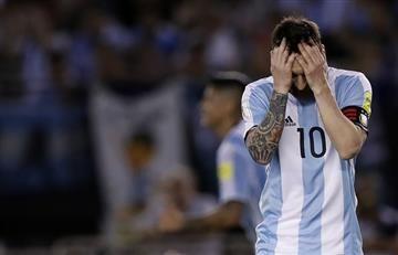 Messi asegura que no insultó al árbitro