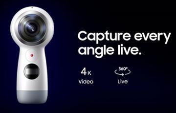 Samsung presentó su nueva cámara Gear 360